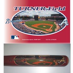 Atlanta Braves 34-inch Stadium Bat