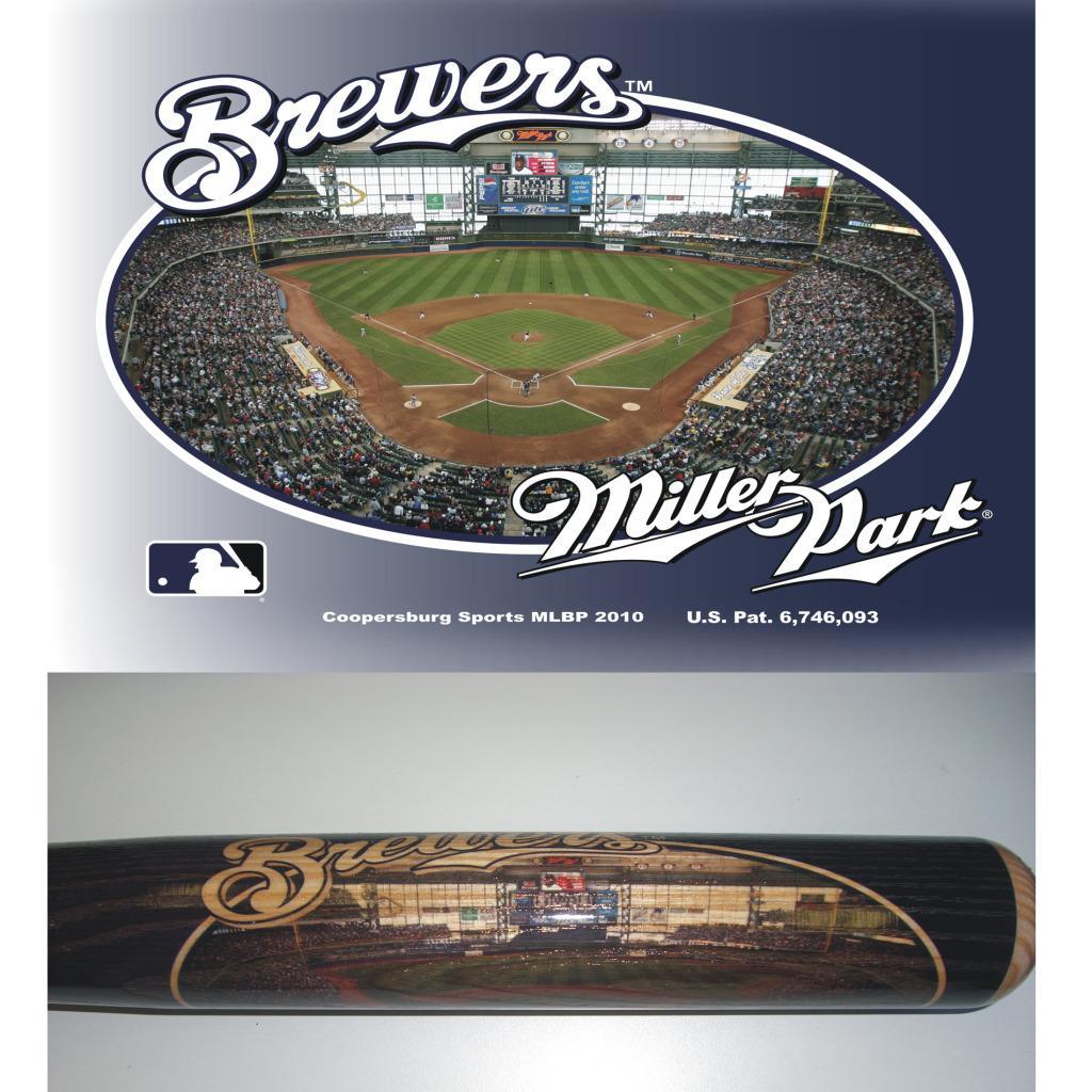 Milwaukee Brewers 34-inch Stadium Bat
