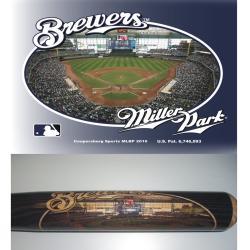 Milwaukee Brewers 34-inch Stadium Bat - Thumbnail 1