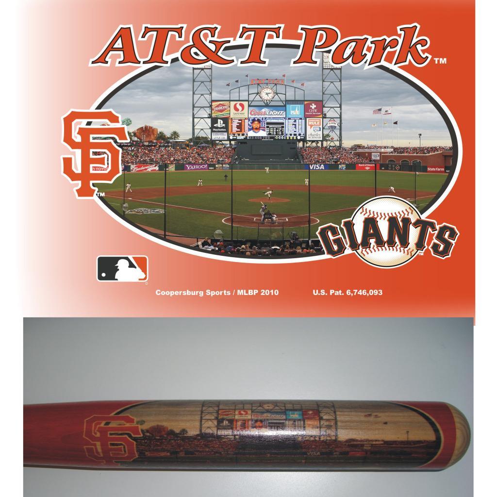 San Francisco Giants 34-inch Stadium Bat