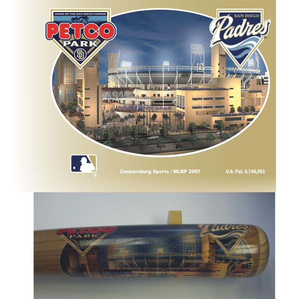 San Diego Padres 34-inch Stadium Bat