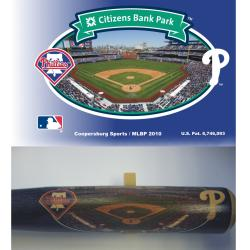 Philadelphia Phillies 34-inch Stadium Bat - Thumbnail 1