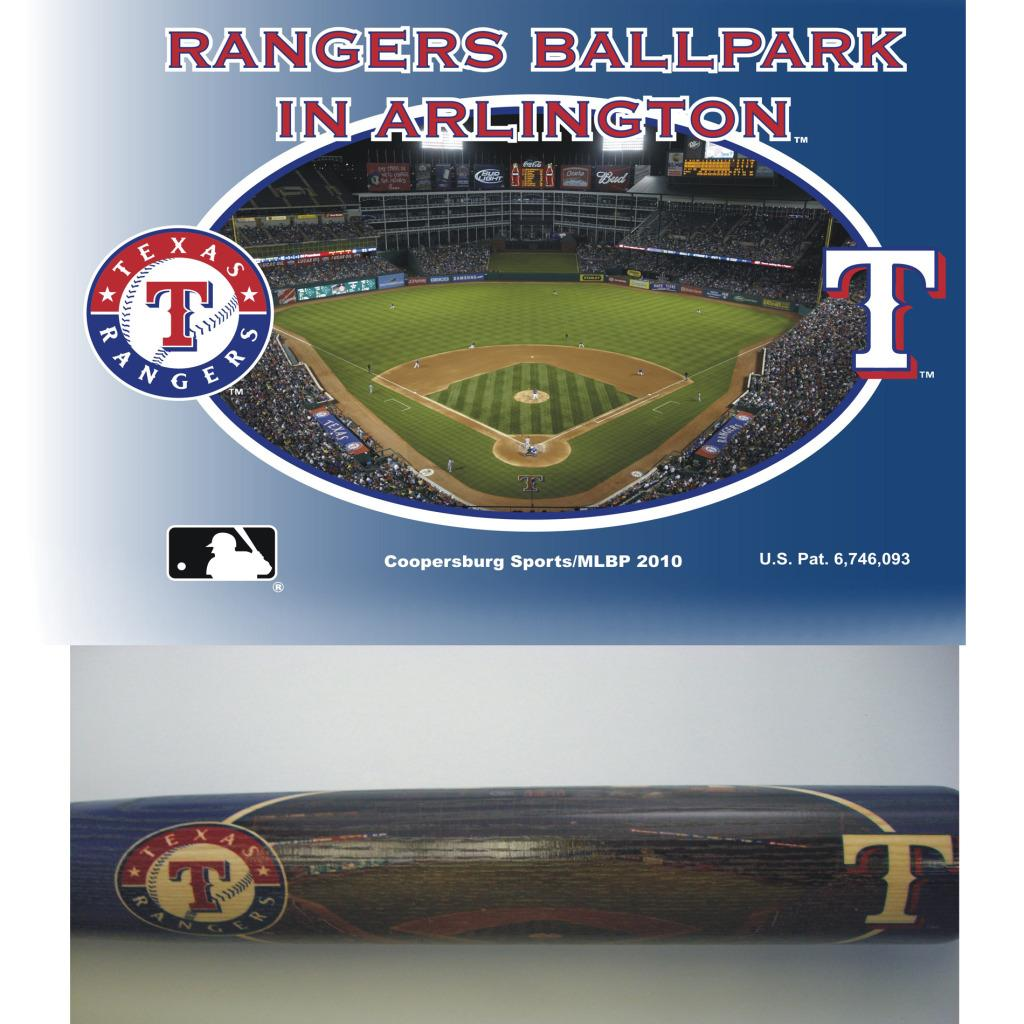 Texas Rangers 34-inch Stadium Bat
