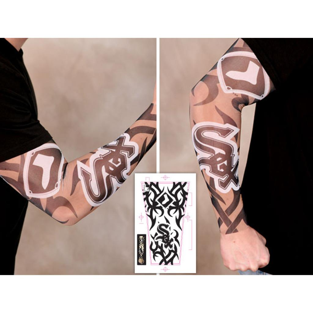 Chicago White Sox Tattoo Sleeves (Pack of 2) - Thumbnail 0