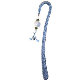 Beadwork by Julie Pewter Golf Bookmark