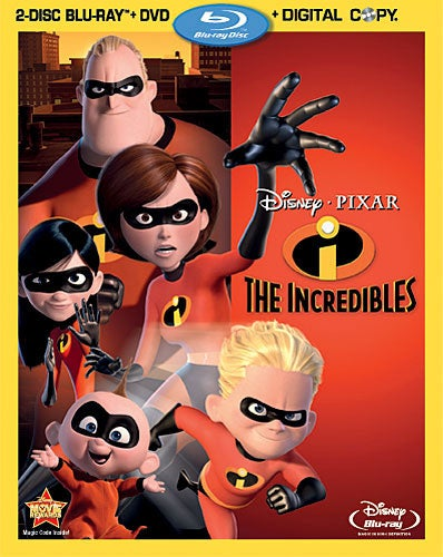 The Incredibles (Blu-ray/DVD)
