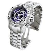 Invicta Men's 'Reserve/Excursion' Stainless Steel Chronograph Watch