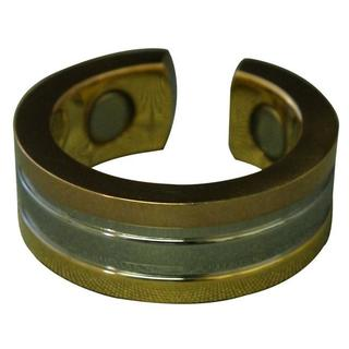 Tri-tone Magnetic Stainless Ring