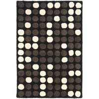 Safavieh Handmade Soho Dots Black New Zealand Wool Rug - 2' x 3'