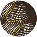 Safavieh Handmade Soho Waves Brown New Zealand Wool Rug - 9' x 13'