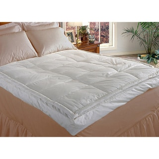 Hotel Grand Luxurious Pillow-top Baffle Box Fiberbed
