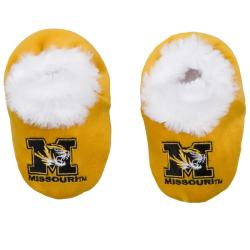 Missouri Tigers Baby Bootie Slippers - Thumbnail 0