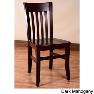 Jacob Wood Dining Chairs (Set of 2)