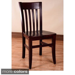 Gracewood Hollow Mantel Wood Dining Chairs (Set of 2)
