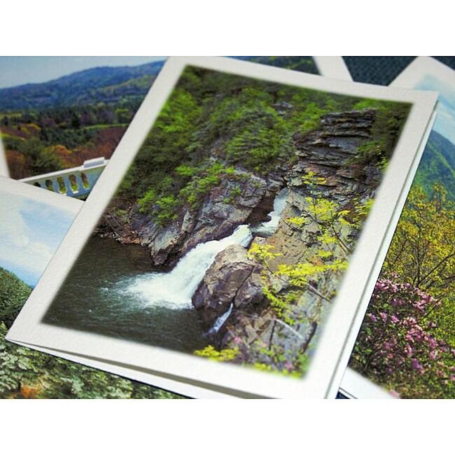 Orange Cat Art 'Blue Ridge Parkway Collection' Note Cards (Set of 4)