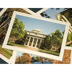 Orange Cat Art 'Davidson College Collection' Note Cards (Set of 4)