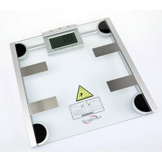 Weighmax Digital Body Fat and Water Bathroom Scale