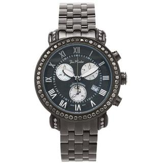 Joe Rodeo Classic Men's Black Diamond Watch