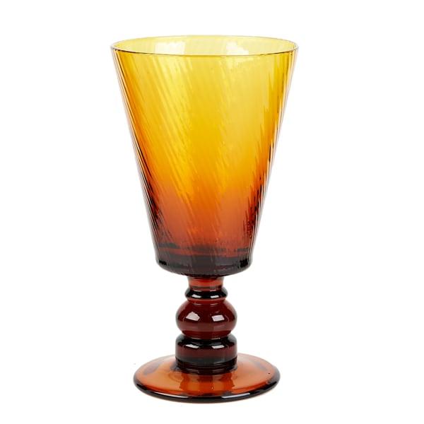 Impulse! Roma Goblet Amber (Set of 4)