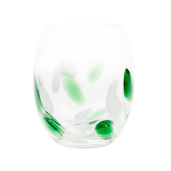 Impulse! Cloud Green Rocks Glasses (Set of 4)