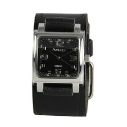 Nemesis Women's Black Leather Band Watch