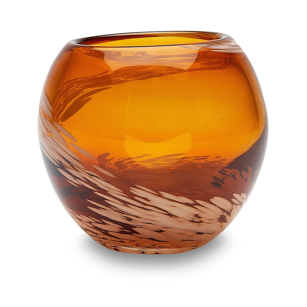 Impulse Pearl (White) Amber Votive (Set of 4) (Glass)