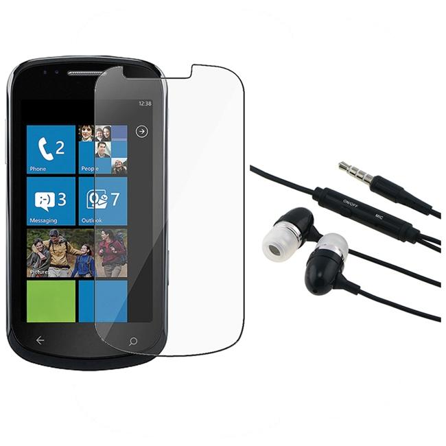 INSTEN 3.5mm In-ear Stereo Headset/ Screen Protector for Samsung i917 Focus