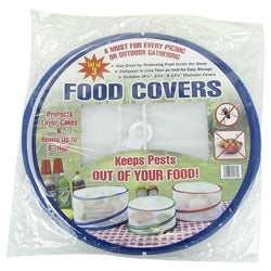 As Seen on TV  Outdoor Pop-Up 3-piece Food Covers Set (Pack of 2)