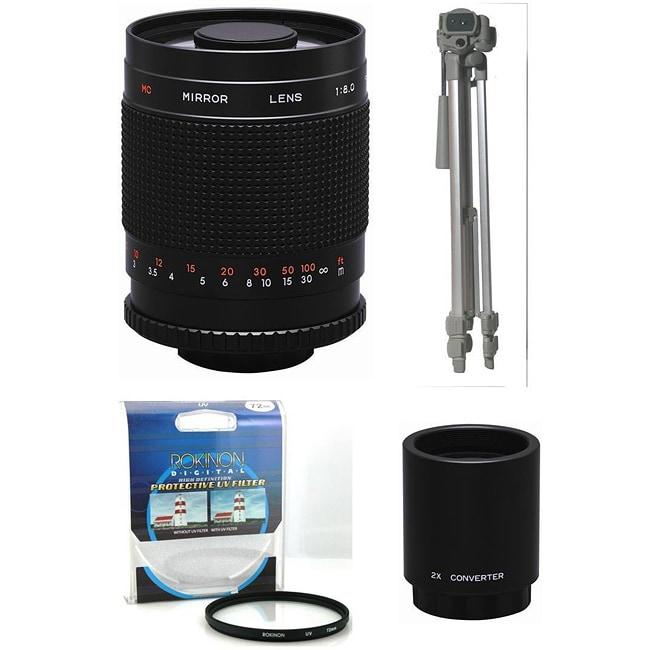 Rokinon 500mm/ 1000mm Lens Kit for Sony Alpha (Refurbished)