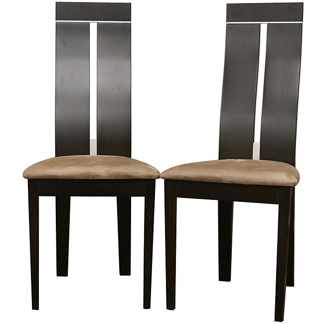 Magness Dark Brown Dining Chairs (Set of 2)