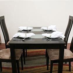 Farrington Dark Brown Wood Modern Dining Table
