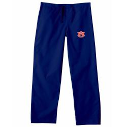 Gelscrub Unisex Navy Auburn Tiger Scrub Pants