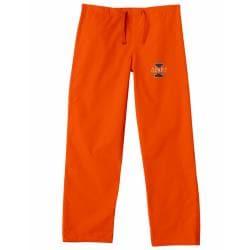 Gelscrub Unisex Orange Illinois Illini Scrub Pants - Thumbnail 1