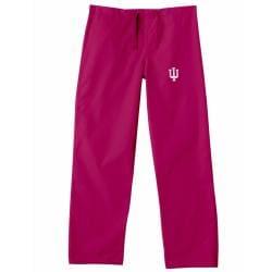 Gelscrub Unisex Crimson Indiana Hoosier Scrub Pants - Thumbnail 2
