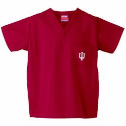 Gelscrub Unisex Crimson Indiana Hoosiers Scrub Top - Thumbnail 2
