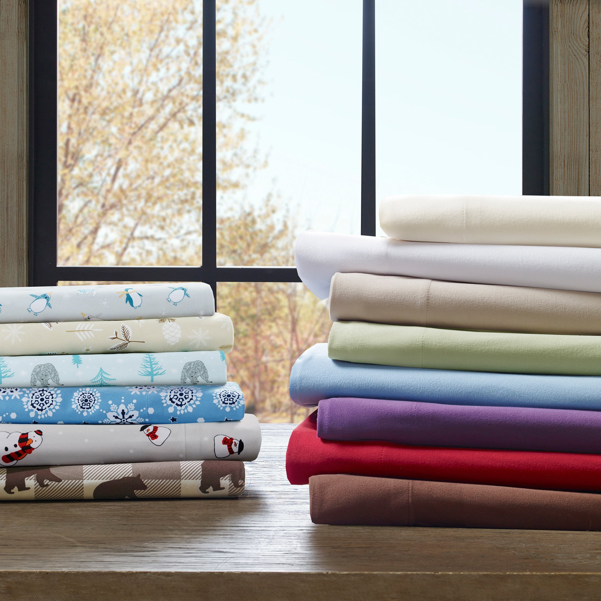 Laurel Creek Beryl Softspun All-season Sheet Set