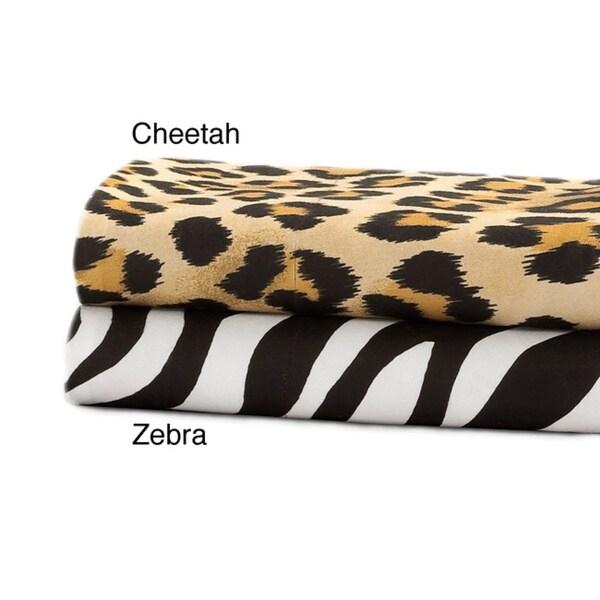 Premier Comfort Softspun Twin/ Twin XL-size All-season Animal Sheet Set