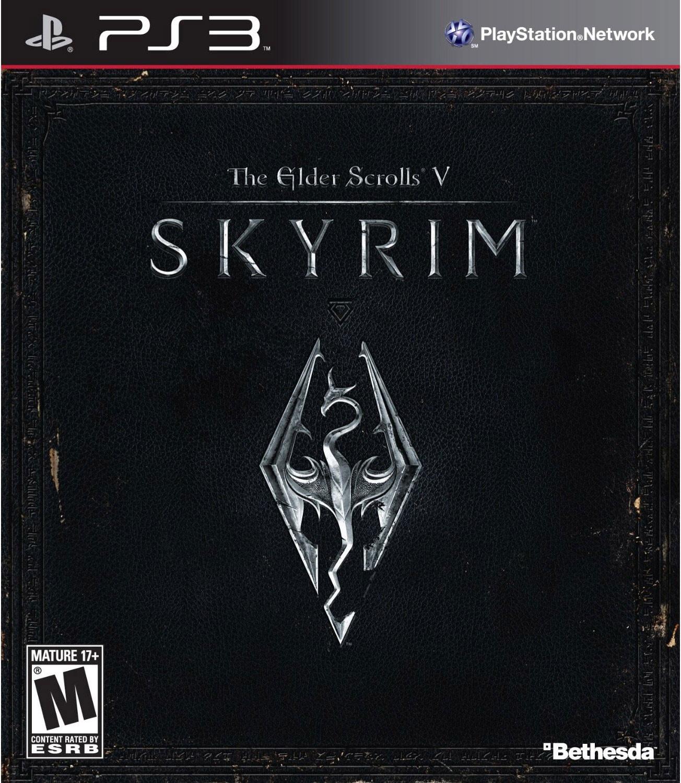 PS3 - Elder Scrolls V: Skyrim - By Bathesda Softworks