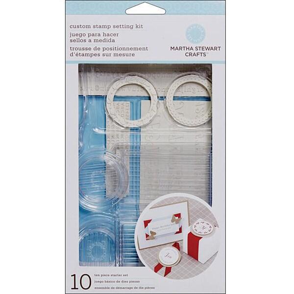 Martha Stewart Your Own Stamp Set. Opens flyout.