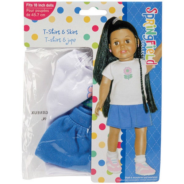 Springfield Collection T-shirt and Skirt Doll Clothes