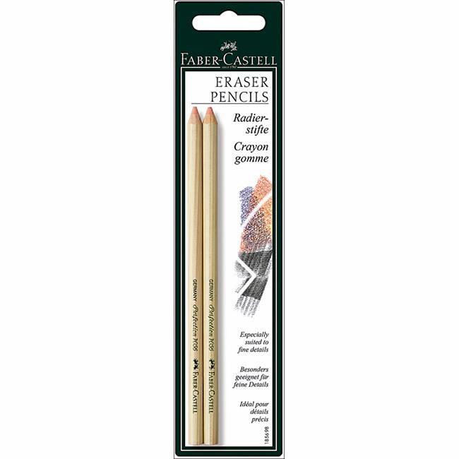 Faber-Castell Eraser Pencils (Pack of 2)