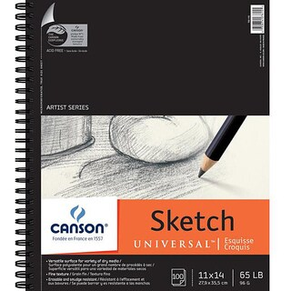 Canson Universal 11x14-in Sketch Paper Pad