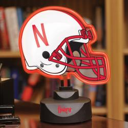 Nebraska Cornhuskers Neon Helmet Lamp - Thumbnail 2