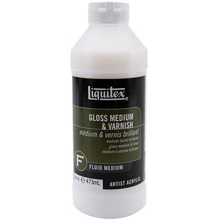 Liquitex 16-oz Gloss Medium and Varnish