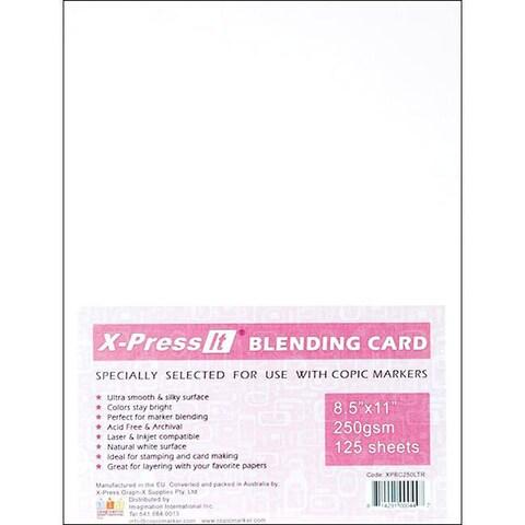 X-Press White Blending Card Sheets