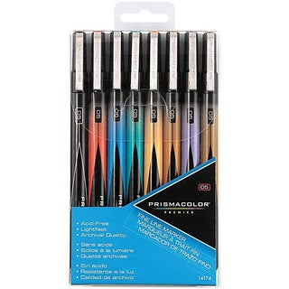 Prismacolor Fine Line Assorted Premier Marker Set (Pack of 8)