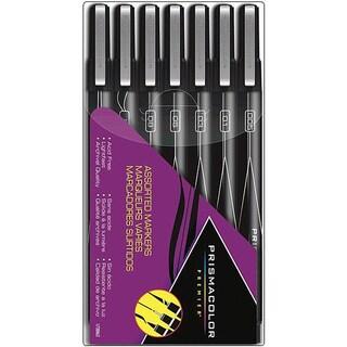 Prismacolor Black Assorted Tips Premier Marker Set (Pack of 7)