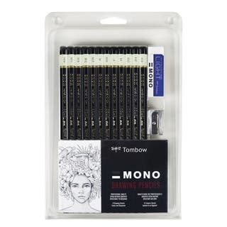 Tombow Professional 12-piece Drawing Pencil Set https://ak1.ostkcdn.com/images/products/5636940/P13391366.jpg?impolicy=medium