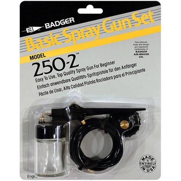 Badger Air Brush Basic Spray Gun Set