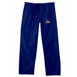 Gelscrub Unisex Navy Boise State Bronco Scrub Pants - Thumbnail 2